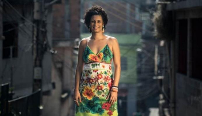 A vereadora brasileira Marielle Franco - Nossa Política