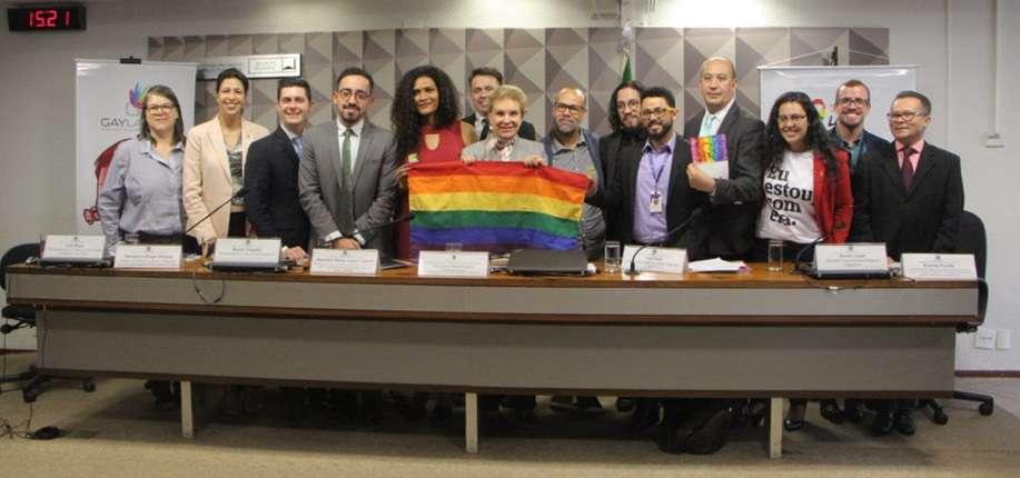 Lançamento marca o Dia Internacional contra LGBTIfobia, conhecido pela sigla em inglês IDAHOT e celebrado mundialmente em maio. Foto: UNAIDS