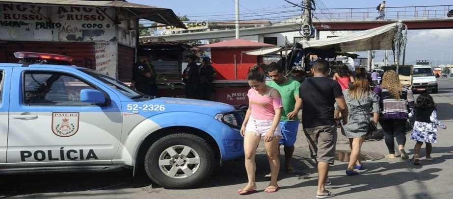 Índice de homicídios no Brasil é o sétimo maior das Américas, de acordo com a OMS. Foto: Agência Brasil/Fernando Frazão